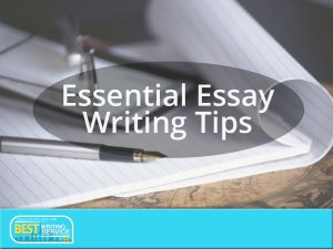 How to Improve Your Essay Writing Skills