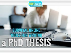 Online Survival Tools For PhD Thesis Writing