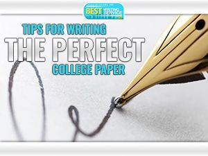 Tips To Write The Perfect Paper