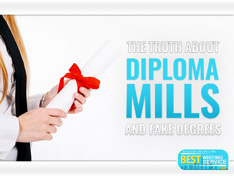The Truth About Diploma Mills and Fake Degrees