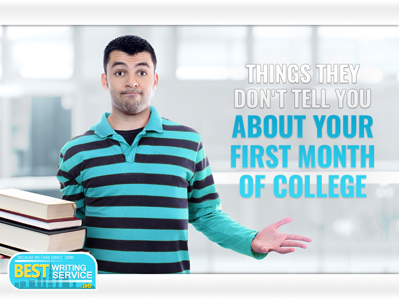 Things They Don_t Tell You About Your First Month Of College